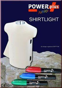 Shirtlight - Taschenlampe zum selbst gestalten - Powerplus