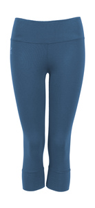 3/4 Leggings Jil, moroccane blue - Jaya