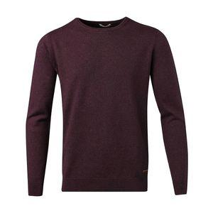 Basic O-Neck Cashmere/Cotton - GOTS - Plum Perfect - KnowledgeCotton Apparel