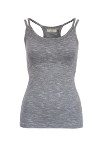 Top Jane, grey melange - Jaya