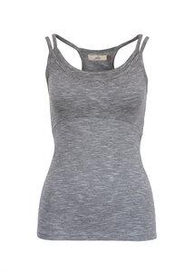 JANE MELANGE - Damen - Top für Yoga aus Biobaumwolle - Jaya