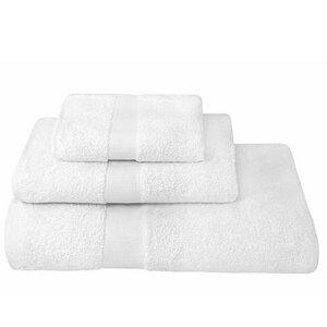 Handtücher weiche Qualität Weiß100% Bio-Baumwolle (kbA) verschiedene Größen - NATUREHOME
