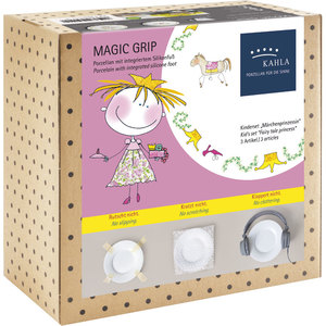 Magic Grip Kindergedeck 3tlg Märchenprinzessin | Porzellan - Kahla