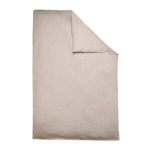 Bio-Bettbezug VIVO 100% Baumwolle (kbA) Satin-Qualität Sand-Naturfarben Auswahl Größe  - NATUREHOME
