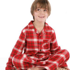 Schlafanzug Holzfäller-Optik, kbA - Kite Kids