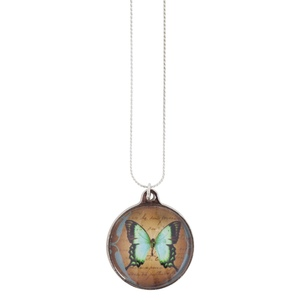 Turquoise Butterfly - The Pendant Warehouse