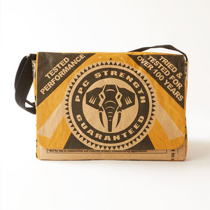15' Cement Laptop & Messenger Bag - SUREROAD - The Wren Design