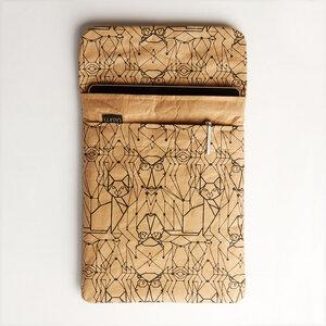 iPad oder Tablet Hülle mit Eulen- & Katzenprint - The Wren Design