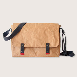 Natural Paper & Baumwolle Messenger | Laptop Tasche - The Wren Design