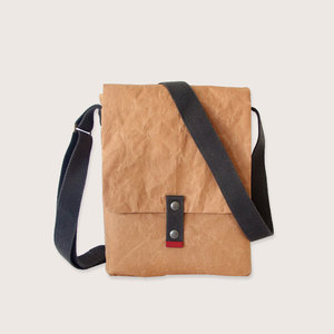 Natural Papier & Baumwolle  Schultertasche - The Wren Design