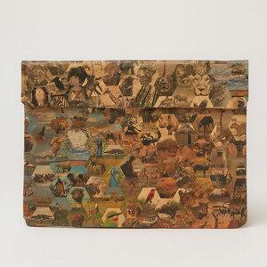 Laptop Hülle mit African Safari print - The Wren Design