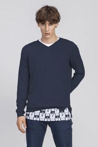 Ferruccio Knit / 0072 Bio-Baumwolle & Seide / Minimal - Re-Bello