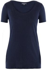 Lady Single Jersey T-Shirt Black Iris - Naturaline