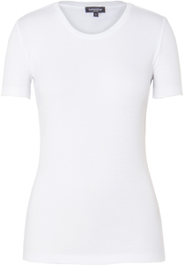 Lady T-Shirt Round Neck Bright White - Naturaline