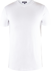 Men Single Jersey T-Shirt Bright White - Naturaline
