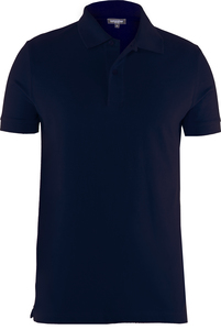 Men Polo Shirt Black Iris - Naturaline