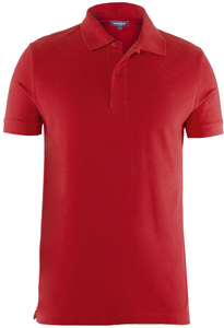Men Polo Shirt Lipstick Red - Naturaline