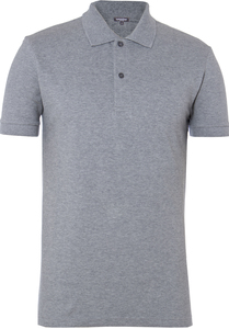 Men Polo Shirt Stone Grey - Naturaline