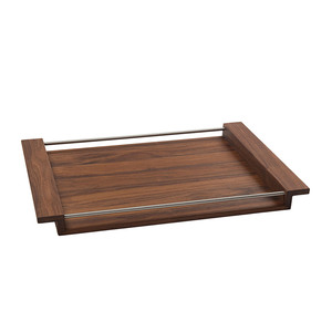 Holztablett NH-M Nussbaum-Holz in 3 verschiedenen Größen - NATUREHOME