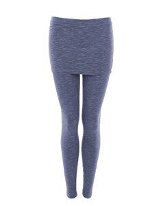 ALICE MELANGE - Damen - Leggings mit kurzem Rock für Yoga aus Biobaumwolle - Jaya