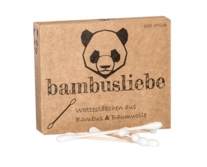 Bambus Wattestäbchen - bambusliebe