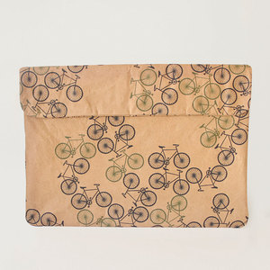 Natural Paper Notebook-Tasche | Forest Bike - The Wren Design