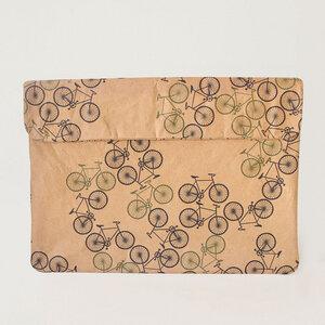 Natural Paper Notebook-Tasche | Forest Bike - The Wren Design