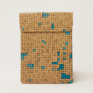 iPad Hülle mit Dots & Squares - The Wren Design