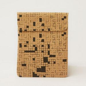 iPad Hülle mit | Dots & Squares Black - The Wren Design