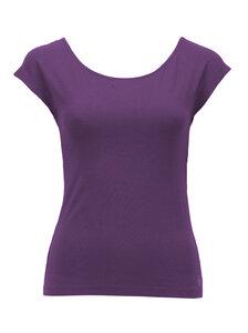 T-Shirt Gina, deep purple - Jaya