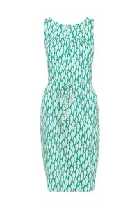 Peter Jensen Parrot Print Sleeveless Dress - People Tree