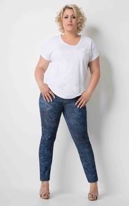 Venus-Jeans Patched High Waist - Pearls of Laja
