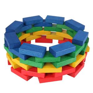 Fröbel Bausteine, bunt gebeizt oder natur - Beck Holzspielzeug