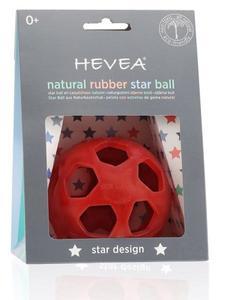 HEVEA STAR BALL - RASPBERRY RED - Hevea