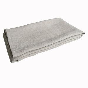 Duschtuch von tuchmacherin, Naturleinen - tuchmacherin - handgewebtes design + filz