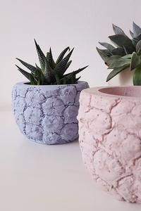 Beton Übertopf Blumentopf Topf Ananas Deko Keramik - Concrete Jungle | Betonmanufaktur
