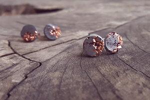 Ohrstecker Copper Rosé Edition  - Concrete Jungle | Betonmanufaktur