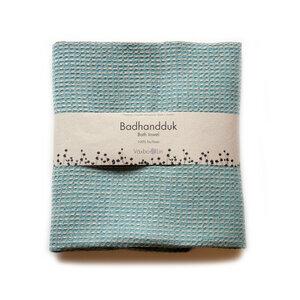 Bade- und Saunatuch BUBBEL farbig - Växbo Lin