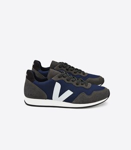 SNEAKER - HOLIDAY LOW TOP SDU B-MESH NAUTICO BLACK - Veja