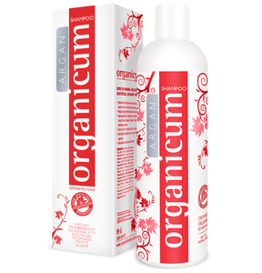 organicum Argan-Shampoo für gefärbtes Haar, 350 ml - organicum