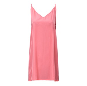 Kleid TRIANGLE Crèpe peach - JAN N JUNE