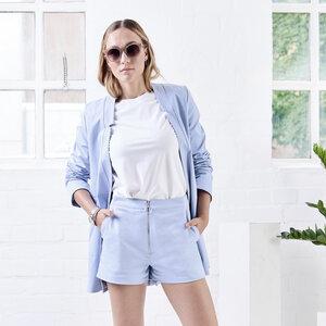 Shorts DICE light blue - JAN N JUNE