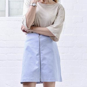 Skirt ANGLE light blue - JAN N JUNE