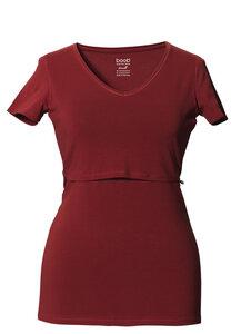 2 in 1 Stillshirt und Umstandsshirt mit V-Ausschnitt, aktuelle Farben - Boob