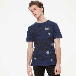 ThokkThokk Pebbles T-Shirt midnight melange - THOKKTHOKK