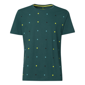 ThokkThokk Dotties T-Shirt deep teal - THOKKTHOKK