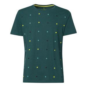 ThokkThokk Dotties T-Shirt deep teal - THOKKTHOKK