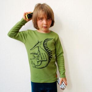 Kinder longsleeve Duchs grün - Cmig
