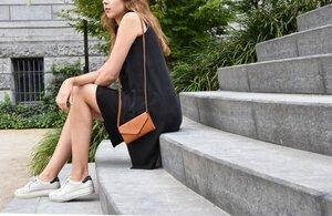 Umhängetasche - Josephine Bag - Eco Camel - O MY BAG