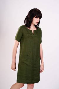 Sara Linen Tunic Dress  - bibico